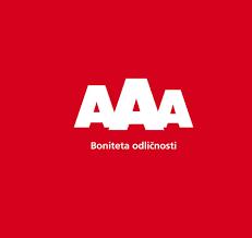 Tudi v tem letu smo prejeli status AAA bonitetne odličnosti