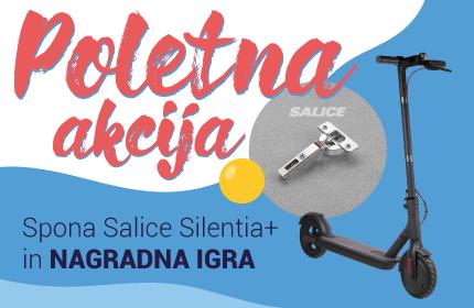 Poletna akcija Spona Salice Silentia+ in nagradna igra