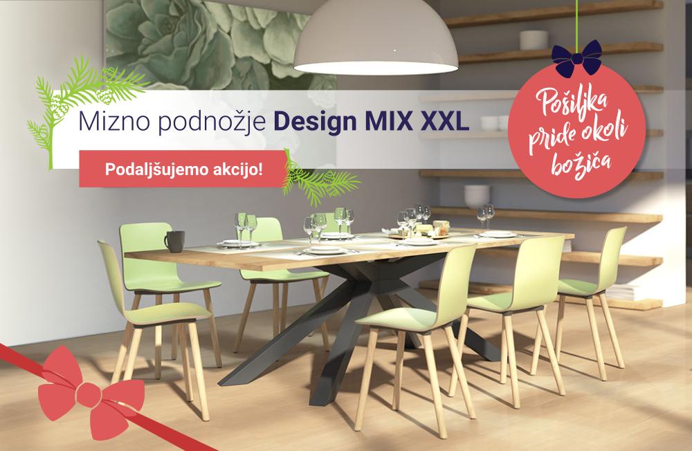 Novo mizno podnožje Design MIX XXL